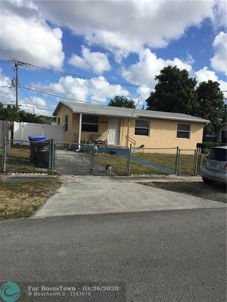 6409 Franklin St, Hollywood, FL 33024 (MLS #F10223473) :: Green Realty Properties