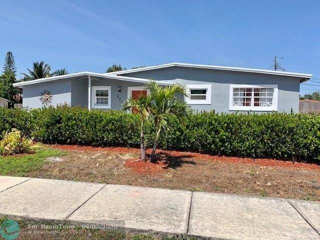 201 NE 42nd Ct, Deerfield Beach, FL 33064 (MLS #F10224123) :: RE/MAX