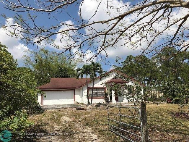 12593 82nd St, West Palm Beach, FL 33412 (MLS #F10224505) :: Laurie Finkelstein Reader Team
