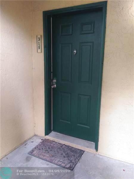 927 Riverside Dr #315, Coral Springs, FL 33071 (MLS #F10225043) :: The O'Flaherty Team