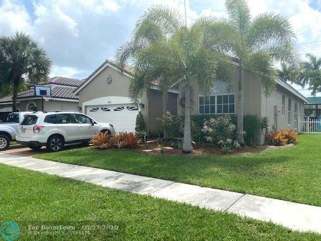 1109 NW 184th Ter, Pembroke Pines, FL 33029 (#F10231292) :: Posh Properties