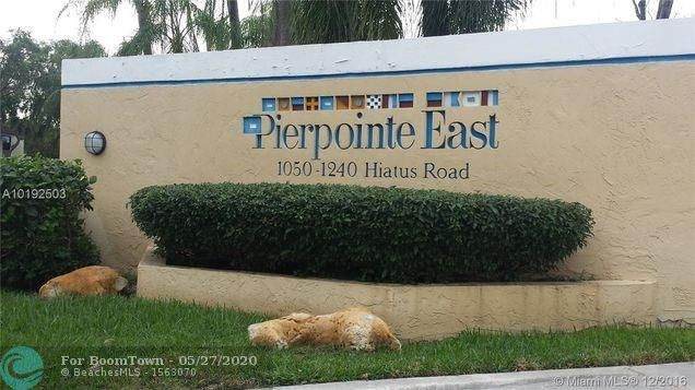 1066 N Hiatus Rd #1066, Pembroke Pines, FL 33026 (MLS #F10231384) :: Castelli Real Estate Services