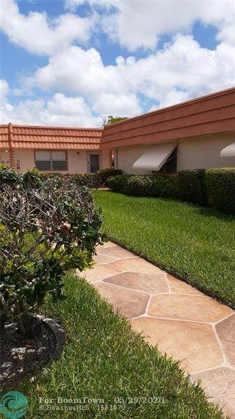 31 Seville B #1, Delray Beach, FL 33446 (MLS #F10231703) :: GK Realty Group LLC