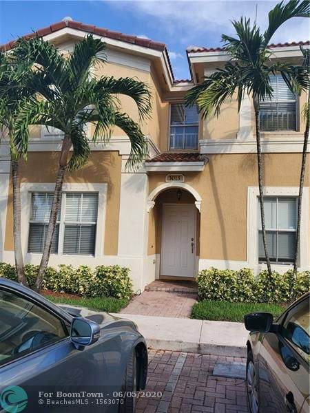 3015 SW 129th Ter #153, Miramar, FL 33027 (MLS #F10232504) :: THE BANNON GROUP at RE/MAX CONSULTANTS REALTY I