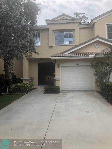 4722 NW 59th Mnr #4722, Coconut Creek, FL 33073 (MLS #F10234851) :: Berkshire Hathaway HomeServices EWM Realty