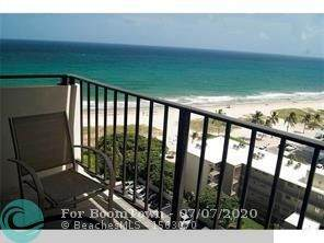 1900 S Ocean Blvd 14B, Pompano Beach, FL 33062 (MLS #F10237421) :: Cameron Scott  at RE/MAX