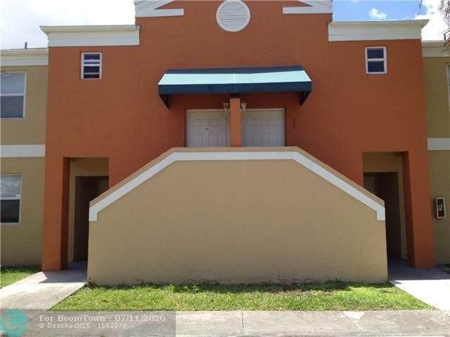 2451 NW 56th Ave #106, Lauderhill, FL 33313 (MLS #F10238455) :: Lucido Global