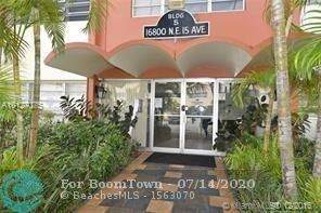 16800 NE 15th Ave #102, North Miami Beach, FL 33162 (MLS #F10238933) :: Berkshire Hathaway HomeServices EWM Realty