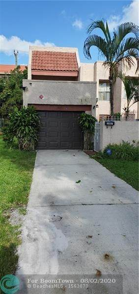 1807 NW 58th Ave #17, Lauderhill, FL 33313 (MLS #F10241354) :: Green Realty Properties