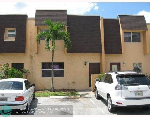 5607 Blueberry Ct #154, Lauderhill, FL 33313 (MLS #F10242133) :: Green Realty Properties