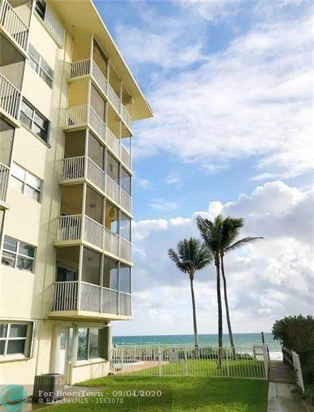1161 Hillsboro Mile #204, Hillsboro Beach, FL 33062 (MLS #F10243270) :: Berkshire Hathaway HomeServices EWM Realty