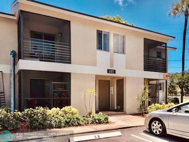 107 Gardens Dr #206, Pompano Beach, FL 33069 (MLS #F10243511) :: Green Realty Properties
