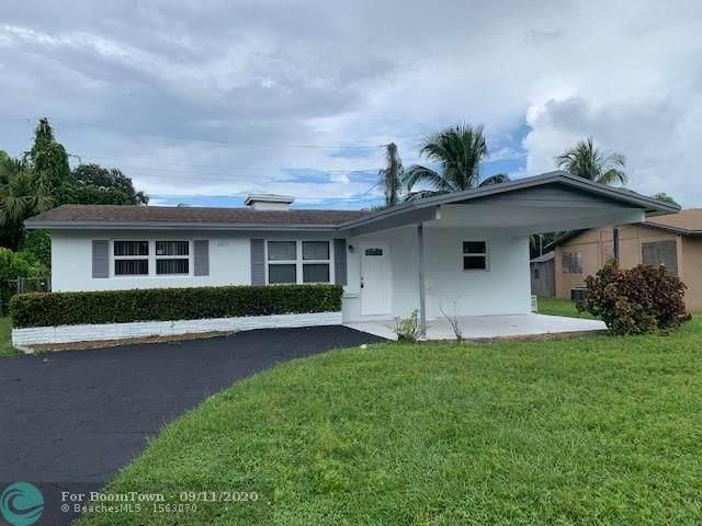 4411 NW 36th St, Lauderdale Lakes, FL 33319 (MLS #F10243711) :: Berkshire Hathaway HomeServices EWM Realty