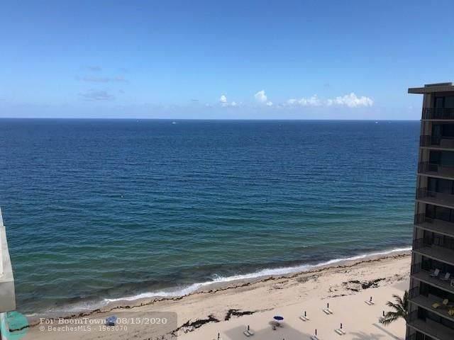 3850 Galt Ocean Dr #1603, Fort Lauderdale, FL 33308 (MLS #F10244040) :: Castelli Real Estate Services