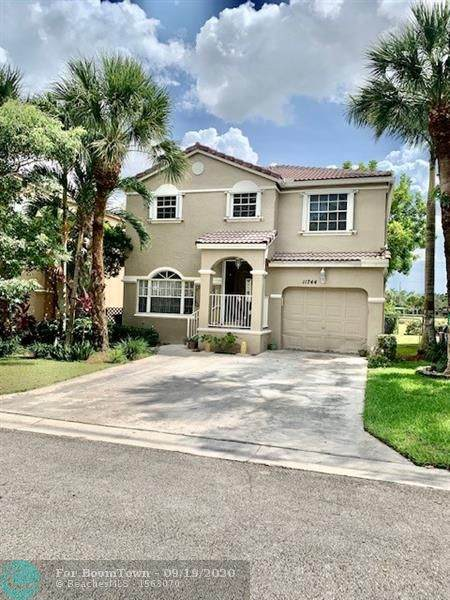 11744 SW 1st St, Coral Springs, FL 33071 (#F10249481) :: Real Estate Authority