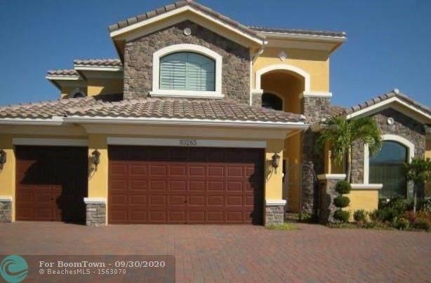 10265 N Barnsley Dr, Parkland, FL 33076 (#F10251019) :: Signature International Real Estate