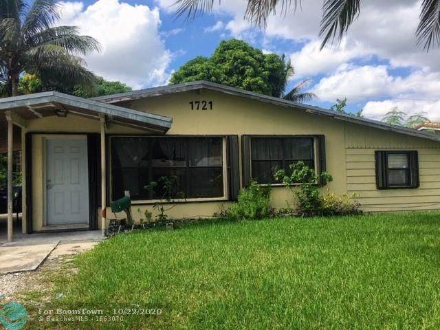 1721 NW 28th Ave, Fort Lauderdale, FL 33311 (MLS #F10254594) :: Castelli Real Estate Services