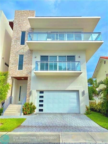 349 Palm Street, Hollywood, FL 33019 (MLS #F10255343) :: Green Realty Properties