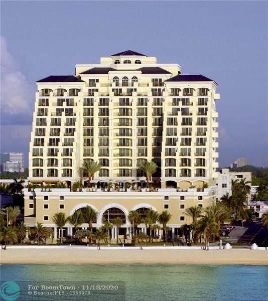 601 N Fort Lauderdale Beach Blvd #606, Fort Lauderdale, FL 33304 (MLS #F10259292) :: Castelli Real Estate Services
