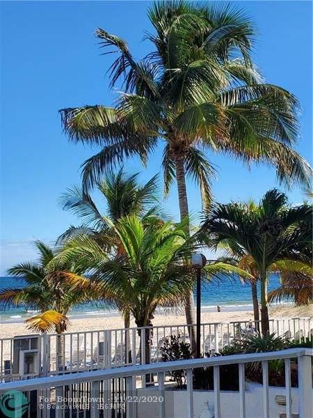1010 S Ocean Blvd #414, Pompano Beach, FL 33062 (MLS #F10259724) :: Castelli Real Estate Services