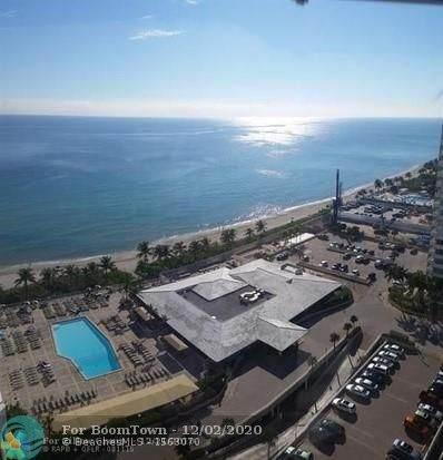 1950 S Ocean Dr 19E, Hallandale, FL 33009 (MLS #F10260839) :: GK Realty Group LLC