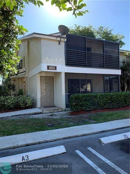 405 Gardens Dr #101, Pompano Beach, FL 33069 (MLS #F10260989) :: United Realty Group