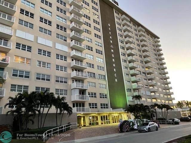 133 N Pompano Beach Blvd #709, Pompano Beach, FL 33062 (MLS #F10261122) :: United Realty Group