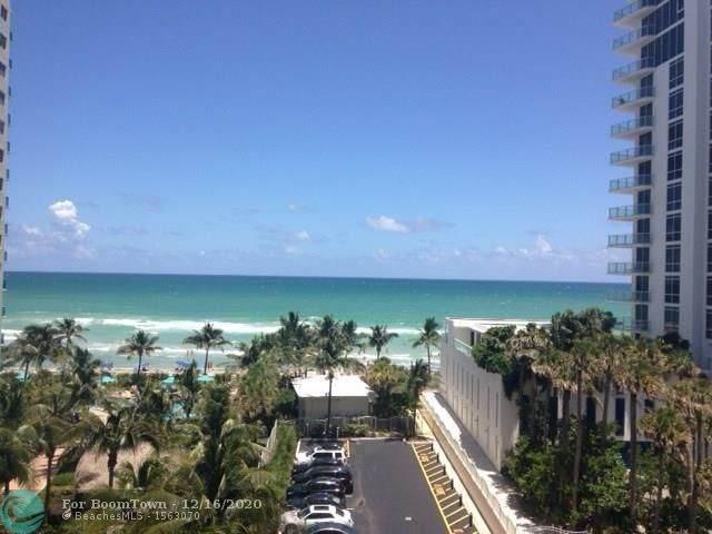 3901 S Ocean Dr 6O, Hollywood, FL 33019 (MLS #F10262403) :: Patty Accorto Team