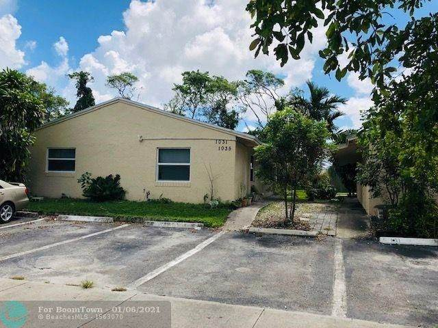 1021 N 61st Ave, Hollywood, FL 33024 (MLS #F10265174) :: THE BANNON GROUP at RE/MAX CONSULTANTS REALTY I