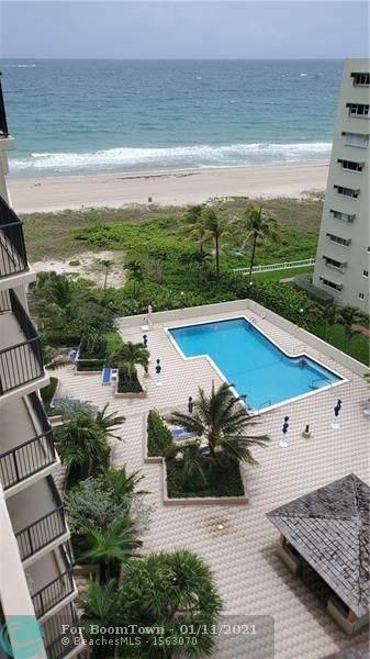1800 S Ocean Blvd #904, Pompano Beach, FL 33062 (MLS #F10265985) :: Patty Accorto Team