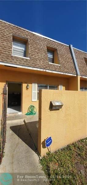 5963 NW 29th St #120, Sunrise, FL 33313 (MLS #F10266006) :: Green Realty Properties