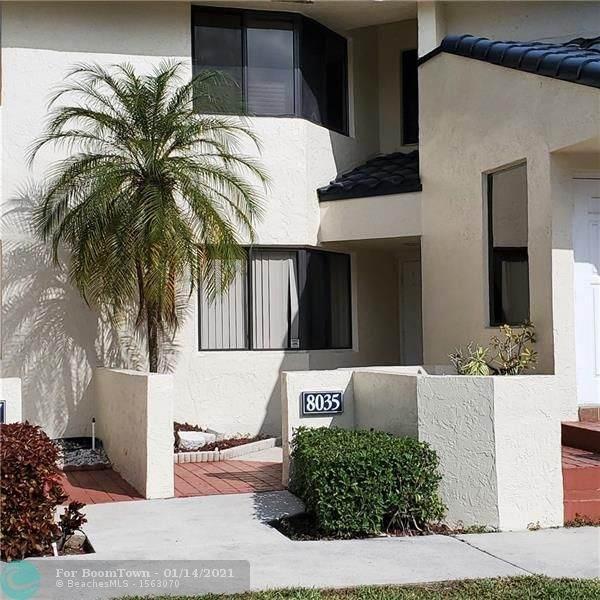 8035 NW 15th Mnr #8035, Plantation, FL 33322 (MLS #F10266349) :: Berkshire Hathaway HomeServices EWM Realty