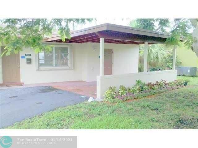 1440 NW 55TH AV, Lauderhill, FL 33313 (MLS #F10266662) :: Green Realty Properties