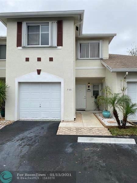 755 NW 42nd Pl, Deerfield Beach, FL 33064 (MLS #F10266797) :: Berkshire Hathaway HomeServices EWM Realty