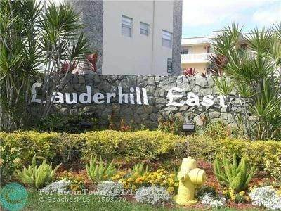 4431 NW 16th St H104, Lauderhill, FL 33313 (MLS #F10267003) :: Green Realty Properties