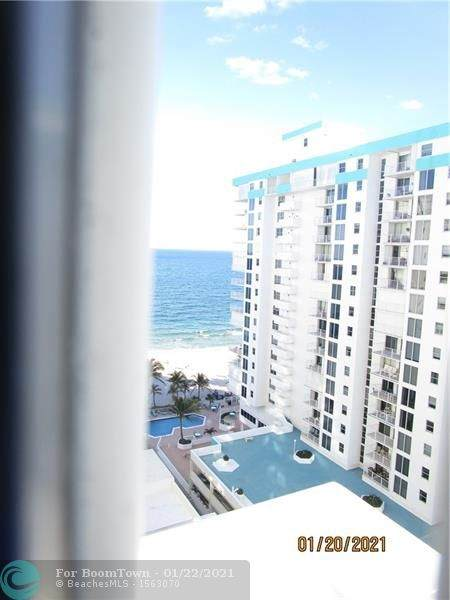 1000 S Ocean Blvd 15F, Pompano Beach, FL 33062 (MLS #F10267747) :: Patty Accorto Team