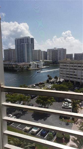 100 Lake Point Towers #1014, Hallandale Beach, FL 33009 (#F10270974) :: Baron Real Estate