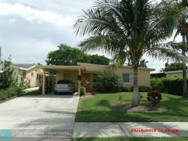 3770 NE 15th Ter, Pompano Beach, FL 33064 (#F10281184) :: Posh Properties