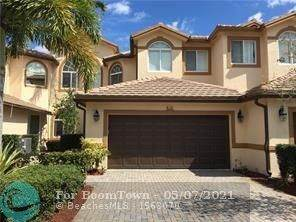 810 W Village Cir #810, Davie, FL 33325 (#F10283469) :: Real Treasure Coast