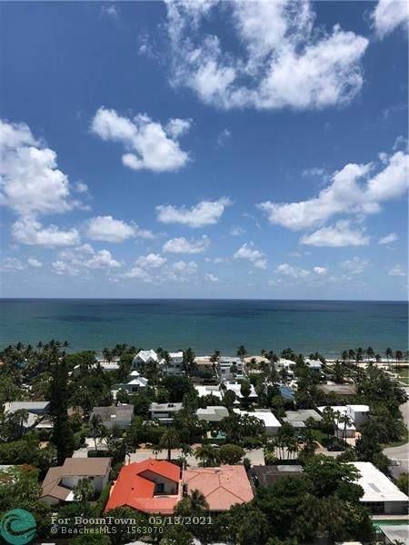 2841 N Ocean Blvd #1810, Fort Lauderdale, FL 33308 (MLS #F10284414) :: Berkshire Hathaway HomeServices EWM Realty