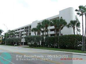 510 N Ocean Bl #311, Pompano Beach, FL 33062 (#F10284654) :: Posh Properties
