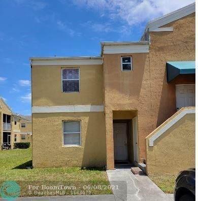 2457 NW 56th Ave 4-101, Lauderhill, FL 33313 (MLS #F10286126) :: Berkshire Hathaway HomeServices EWM Realty