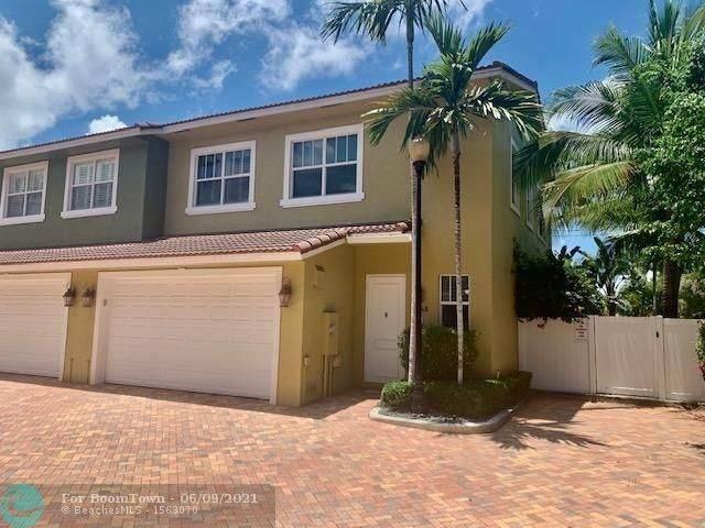 3448 NE 13th Ave #3448, Oakland Park, FL 33334 (MLS #F10288103) :: Castelli Real Estate Services