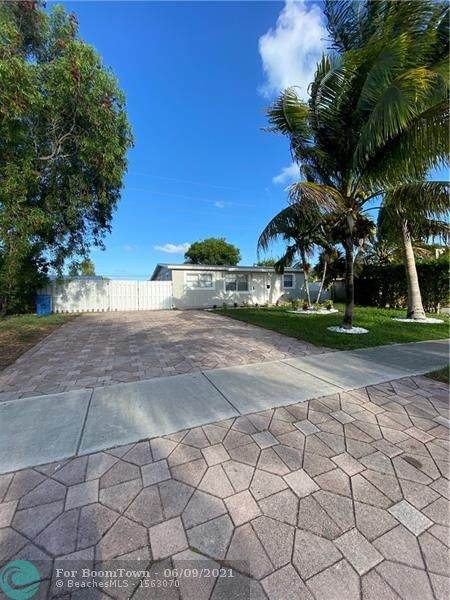 4110 NW 10th Ter, Oakland Park, FL 33309 (#F10288283) :: Michael Kaufman Real Estate