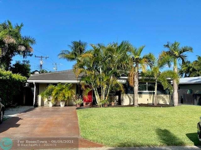 4560 NE 3rd Ter, Oakland Park, FL 33334 (#F10288336) :: Michael Kaufman Real Estate