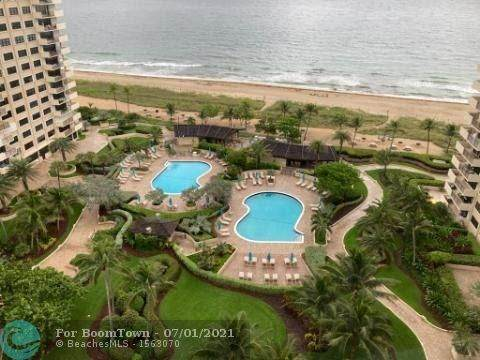 4900 N Ocean Blvd #1614, Lauderdale By The Sea, FL 33308 (#F10290923) :: The Reynolds Team | Compass
