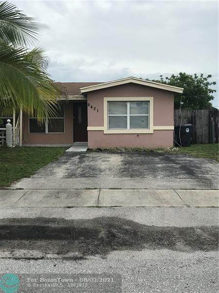6421 SW 19th St, North Lauderdale, FL 33068 (#F10295290) :: The Power of 2   Century 21 Tenace Realty