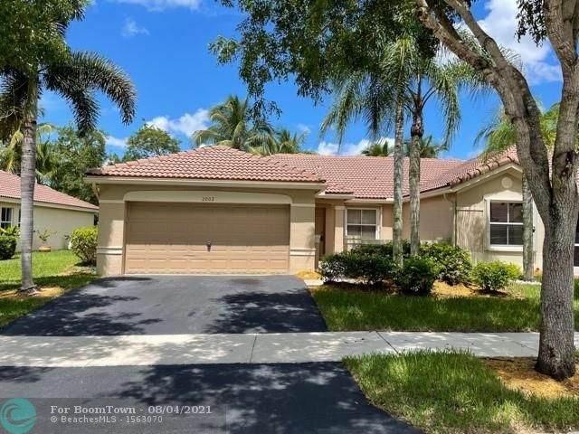 2002 Andromeda Ln, Weston, FL 33327 (#F10295726) :: Treasure Property Group