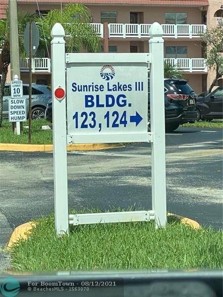 9501 Sunrise Lakes Blvd #101, Sunrise, FL 33322 (#F10296699) :: Heather Towe | Keller Williams Jupiter