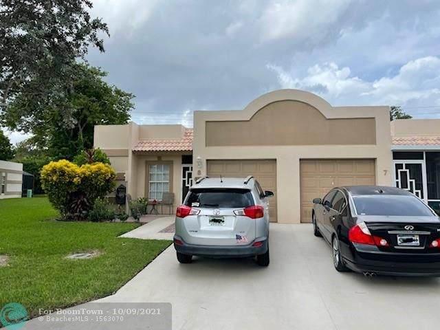 9215 Flynn Cir #8, Boca Raton, FL 33496 (#F10303930) :: Baron Real Estate